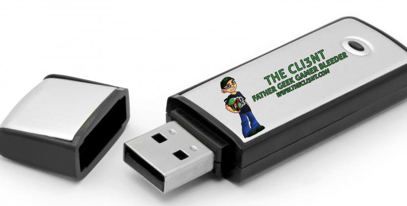The Cli3nt Thumb Drive